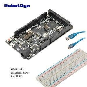 Mega +WiFi R3 ATmega2560+ESP8266 (32Mb memory),USB-TTL CH340G. Compatible for Arduino Mega, NodeMCU, WeMos ESP8266(China)