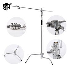 Multi-function Photography Studio Heavy Lighting Century C Stand with Folding Legs, Grip Head and Arm Kit(China)