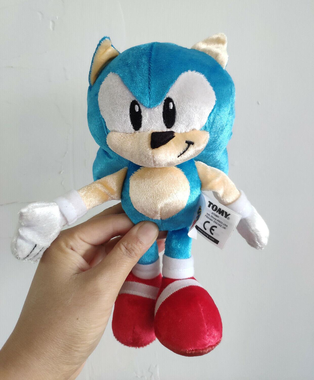 Anime Doll Plush Toys New Sonic The Hedgehog Stuffed Plush Toy Classic TOMY Sonic 20cm