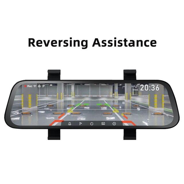 Автомобильный видеорегистратор 70mai, широкий экран 9,35 дюйма, 1080P, угол обзора градусов 5
