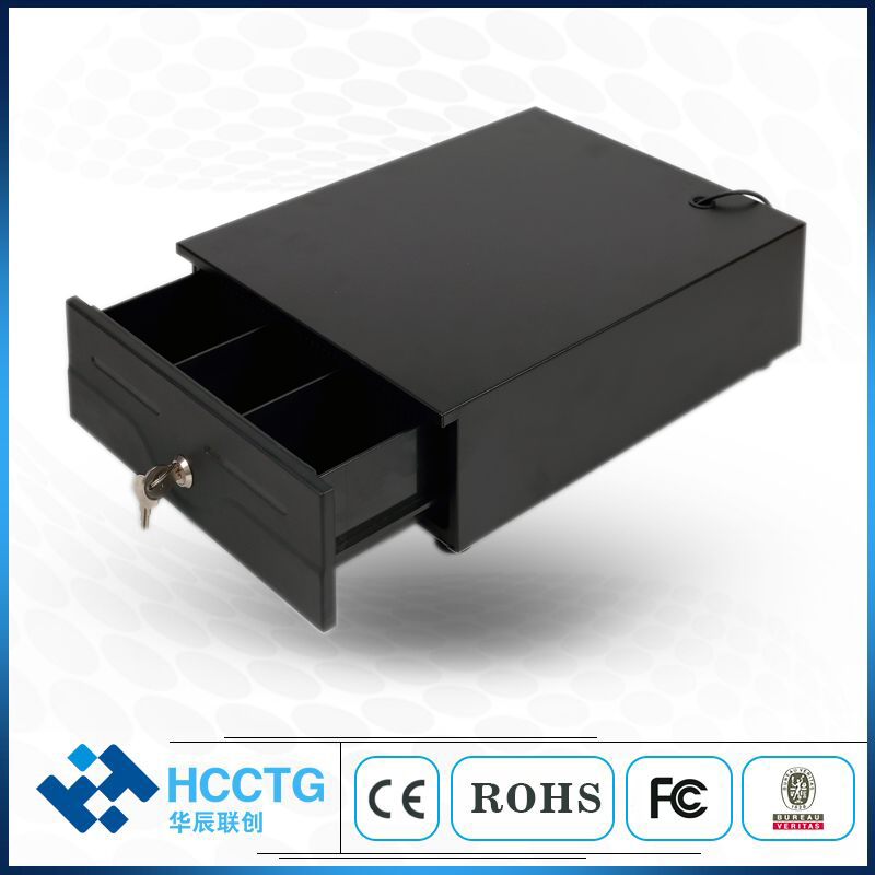Powder Coating Small Electronic Cash Drawer With Micro Switch HS 240|Scanners|Computer & Office - title=