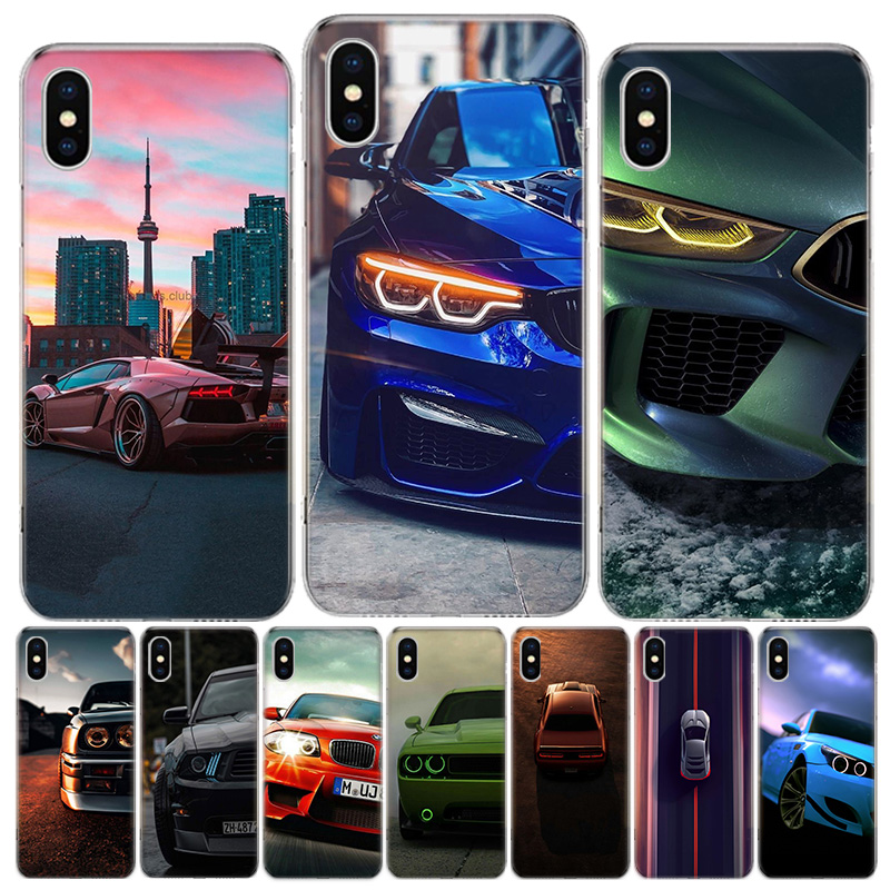 Blue white black For BMW!! Phone Case For iphone SE 2020 11Pro XS MAX 8 7 6 6S Plus X 5 5S SE XR Cover Shell Coque image