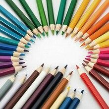 72 цвета, деревянные цветные карандаши, профессиональные карандаши для рисования, акварельные карандаши для школы, принадлежности для художественных эскизов