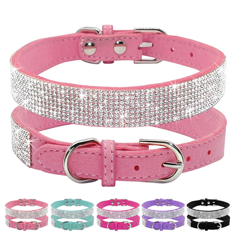 Twinkling Crystal Collar 1