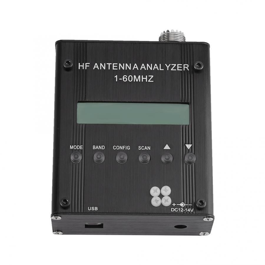 1-60m para o Rádio Professional Original Antena Analyzer Tester Medidor Digital Shortwave Alta Precisão Ham