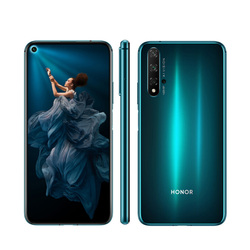 Перейти на Алиэкспресс и купить new honor 20 mobile phone 6.26дюйм. 8 gb ram 128gb rom kirin 980 3750mah super charge side fingerprint android 9 nfc smart phone