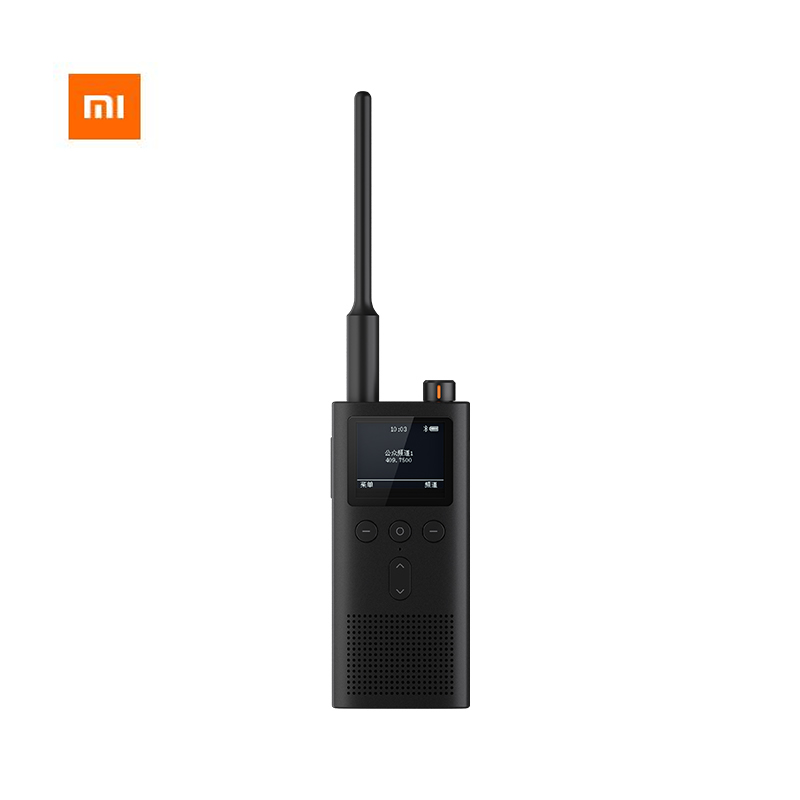 Xiaomi Mijia Walkie talkie 2 IP65 Radio Waterproof And Dust-proof Portable Outdoor Radio Transceiver UVHF Dual Band Interphone