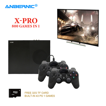 ANBERNIC XPro Video Game Console PS1 HD TV Game 64Bit 800 Classic Family Retro Games X Pro Box PS1 Video Game Player & Gamepad недорого