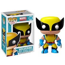 Funko POP The Marvel X-MEN WOLVERINE 05# brinquedos Action Figure toys for children birthday Gift(China)
