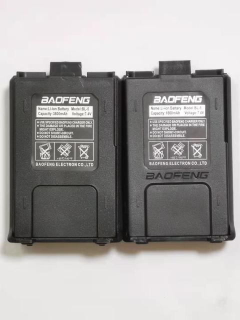 3800mAh Walkie Talkie Accessories Baofeng Uv 5r Battery For Uv-5ra uv-5re Extra Longer Time Standby