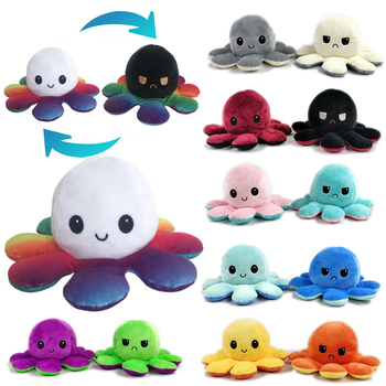 Xmas gift Octopus Pillow Stuffed Toy Dolls Soft Simulation Octopus plush doll Cute Home Decoration Accessories for Children Gift cute simulation french fries pillow dolls