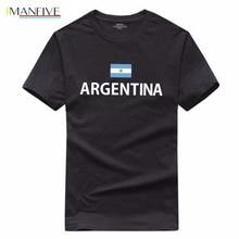 Argentina mens t shirt Argentine 2019 jerseys hip hop nations 100% cotton t-shirt footballs fitness clothing tee country flag AR gildan living in america argentine roots argentina flag shirt