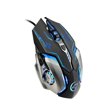 G815 Gaming Mouse 3200Dpi 6 Buttons Led Backlight Usb Wired Optical Mice For Pubg Lol Dota 2 Pc Laptop Desktop