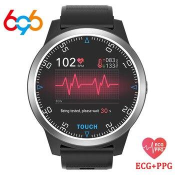 696 E101 Sports Wristwatches PPG ECG Blood Pressure Fitness Tracker Heart Rate Monitor Pedometer Men Women Smart Bracelet