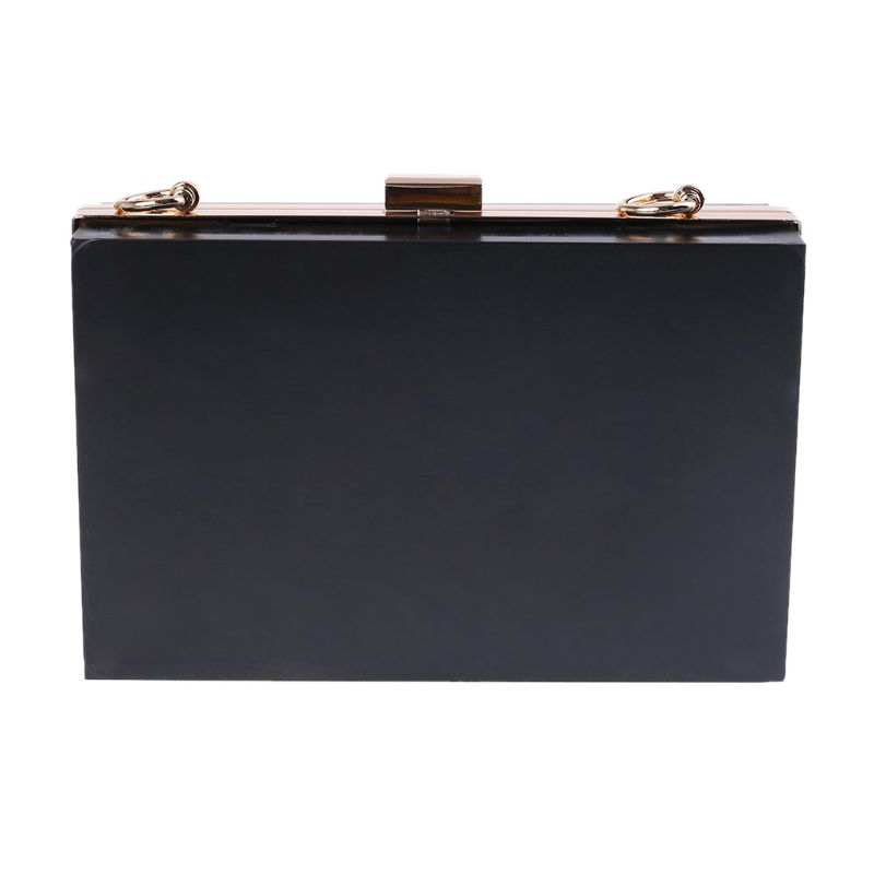 1 Pc Rectangle Metal Bag Frame Box Purses Handles For DIY Craft Replacement Handbags Evening Bag Clutch Accessories