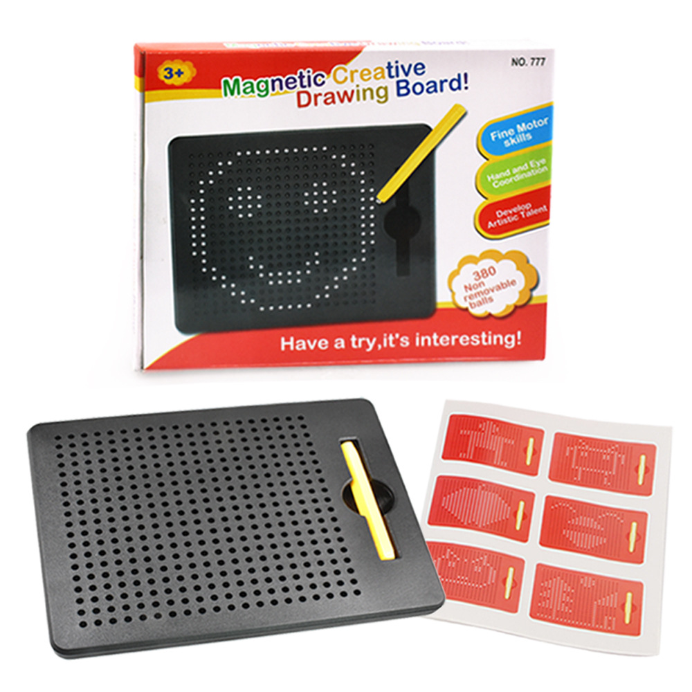 New Style Children'S Educational Toy Magnetic Drawing Board Creative Free Writing Steel Ball Writing Board Product