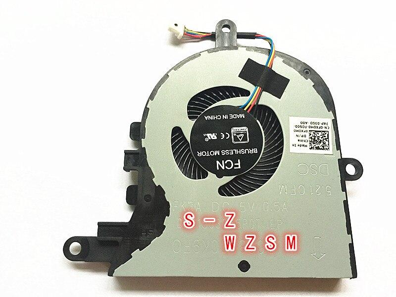 Novo ventilador de refrigeração da cpu original para Dell Latitude 3590 L3590 15 E3590 para inspiron 5570 5575 fan cooler FX0M0 0FX0M0 cn-0FX0M0