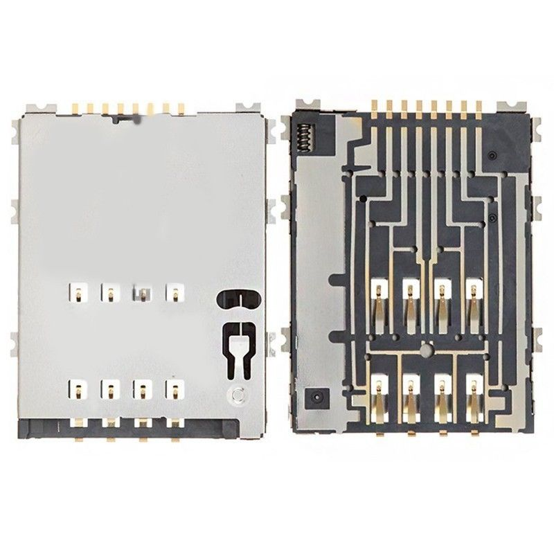 For <font><b>Samsung</b></font> Galaxy Tab 2 10.1 GT-<font><b>P5100</b></font> P5110/Galaxy Tab 10.1 P7500/Galaxy Note 10.1 N8000 SIM Card Tray Holder Slot Contact image