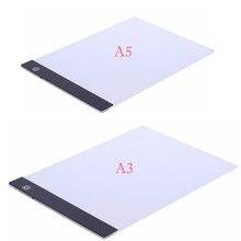 A4/A5?A3 Formato Tre Livello Dimmable Ha Condotto La Luce Pad,Tablet Protezione Degli Occhi Più Facile per la Pittura Del Ricamo Diamante Strumenti Accessori