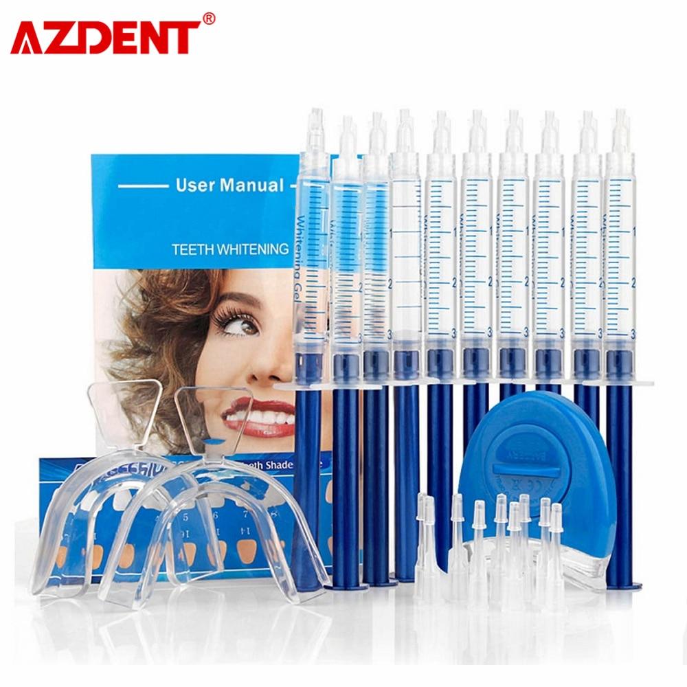 Teeth Whitening 44% Peroxide Dental Bleaching System Oral Gel Kit Tooth Whitener New Dental Equipment 10/6/4/3pcs 1