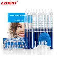 Blanqueamiento de dientes 44% de peróxido Sistema de blanqueado Dental Oral Gel Kit blanqueador de dientes nuevo equipo Dental 10/6/4/3 Uds