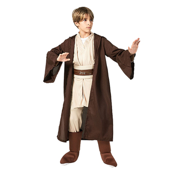 Boys Star Wars Jedi Warrior Movie Character Cosplay Party Clothing Kids Child Fancy Halloween Purim Carnival Costume kids birthday halloween party gift new child boy deluxe star wars the force awakens storm troopers cosplay fancy dress kids hall