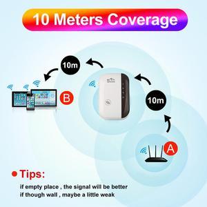 Image 2 - を imice リピータ無線 lan エクステンダー wi fi のアンプワイヤレス 300 メートル 802.11n グラム b 信号範囲ブースター reapeter wi fi アクセスポイント soho