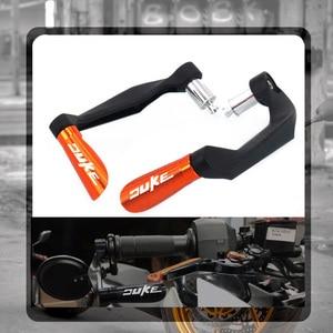 Motorcycle CNC Handguards Handlebar Hand Guards Grips Bar Ends plug For KTM DUKE 125 200 390 690 790 DUKE390 DUKE200 DUKE790(China)