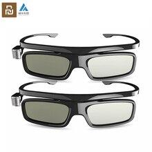 Youpin Fengmi Смарт DLP LINK затвора Тип 3D очки с USB зарядный кабель для Xiaomi Лар проектор TV 3D стекло