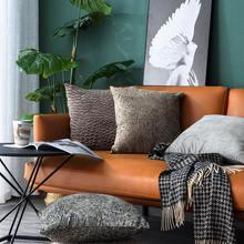 Рождественская плюшевая подушка в скандинавском стиле с принтом