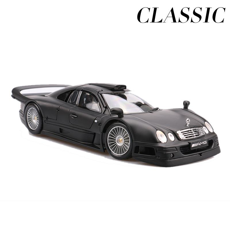 <font><b>1:18</b></font> Clk Gtr Supercar Diecast Model Cars Static Simulation Alloy Mini Car Decoration Collection Toy Metal Car Miniatures <font><b>Voiture</b></font> image