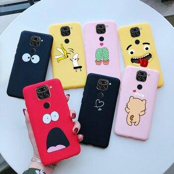 Перейти на Алиэкспресс и купить Чехол для Xiaomi Redmi Note 9, мягкий силиконовый чехол из ТПУ Для Xiaomi Xiomi Redmi Note 9 Note 9 RedmiNote9, чехлы на заднюю крышку телефона, чехол