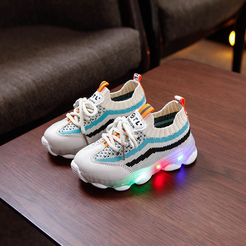 Knitted Non-slip Fashion Sneakers 2