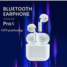 Mini Pro 5 słuchawki Bluetooth TWS słuchawki bezprzewodowe HiFi słuchawki douszne Sport gamingowy zestaw słuchawkowy PK Inpods i12 z GPS i zmiana nazwy tanie tanio EOENKK Ucho NONE Dynamiczny CN (pochodzenie) wireless Do Internetu Bar Do Gier Wideo Dla Telefonu komórkowego Słuchawki HiFi