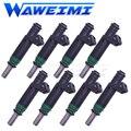 WAWEIMI 8X OE 6269A00266 Топливная форсунка для BMW E66 E60 750i E53 V8 автомобильные аксессуары 7525721