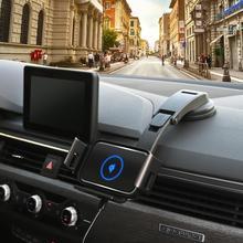 10W Qi רכב אלחוטי מטען אוטומטי הידוק עבור Samsung Galaxy פי Fold2 הערה 10 9 S10 iPhone X 11 מקסימום Huawei Mate X טלפון Holde