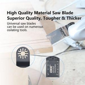 Image 2 - NEWONE многоосциллирующие лезвия пилы Combo HCS/Япония зуб/биметаллический Электрический Реноватор лезвия пилы аксессуары для деревообработки
