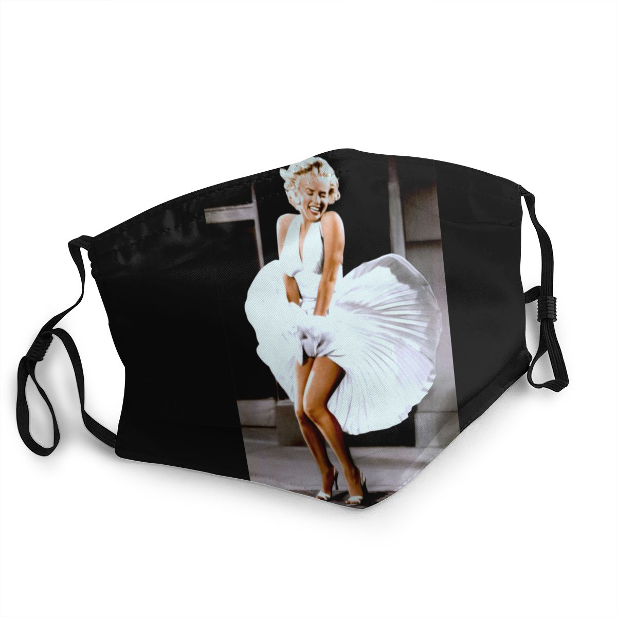 Marilyn Monroe Unisex Reusable Mouth Face Mask Anti Haze Dust Mask Protection Mask Respirator Mouth Muffle