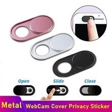 Webcam-Cover Sticker Magnet-Slider Laptop-Lens Phone Privacy Shutter Metal Web-Cam Ultra-Thin