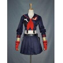 Anime japonês matar la kill cosplay ryuko matoi cosplay traje trajes de halloween feminino meninas festa uniforme vestido feito sob encomenda