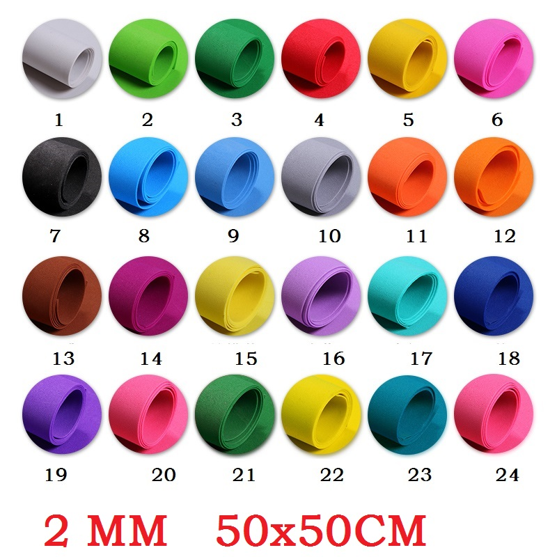 2MM Eva Foam Sheet Color Sponge Paper Scrapbooking Crafts Kindergarten Christmas Handicraft Diy Materials Colorful 50X50
