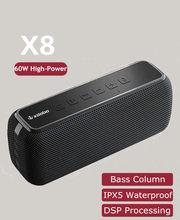 60w xdobo x8 subwoofer sem fio portátil bluetooth alto-falante baixo coluna tws centro de música estéreo alto-falante de alta potência soundbar
