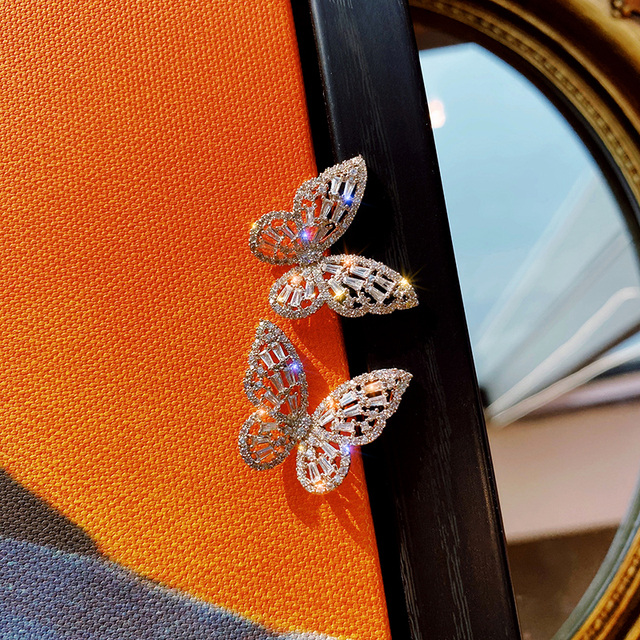 New Design Hot Sale Fashion Jewelry Premium Luxury Zircon Earrings Smart Butterfly Earrings for women gift.jpg 640x640 - New Design Hot Sale Fashion Jewelry Premium Luxury Zircon Earrings Smart Butterfly Earrings for women gift