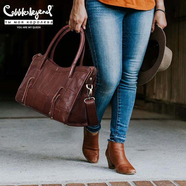 Cobbler Legend Genuine Leather Women Shoulder Bags 2020 New Trend