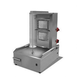 Commercial Gas Grills Doner Kebab Barbecue Machine Roasted Autorotation Rotating Machine Meat Folder Oven CY-4576