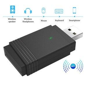 1200 Мбит/с USB 3,0 беспроводной WiFi адаптер ключ двухдиапазонный Bluetooth 5,0 встроенная двойная антенна новое поступление