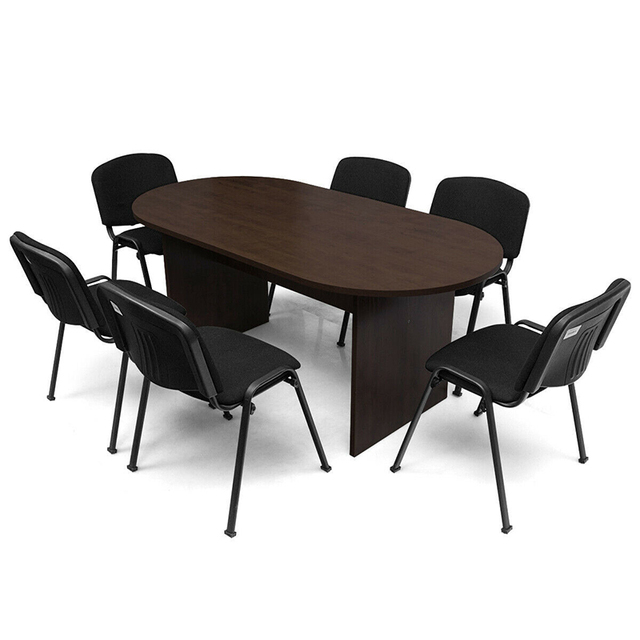 """69"""" x 35"""" Oval Conference Table 3"""