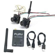 5.8G FPV UVC מקלט + 5.8G 48CH 25/100/200mW Vedio משדר 700TVL מיקרו FPV מצלמה OTG VR Smartphone עבור RC FPV מזלט רכב