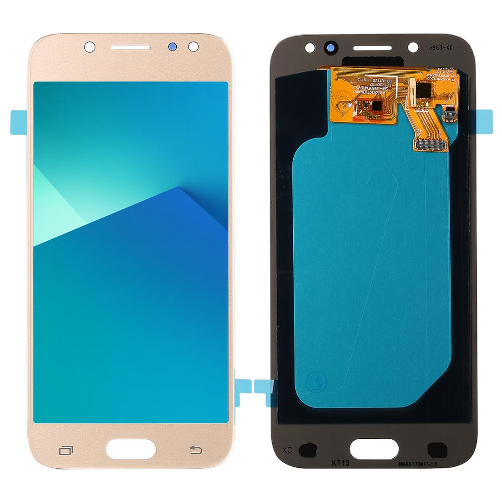 Für <font><b>Samsung</b></font> <font><b>Galaxy</b></font> J5 Pro 2017 <font><b>J530</b></font> SM-J530F j530DS Original <font><b>LCD</b></font> Display und Touch Screen Super Amoled Digitizer Montage Teile image