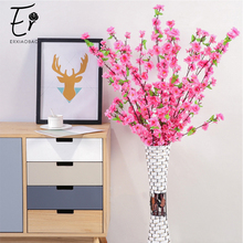 Erxiaobao White Pink Red Yellow Wintersweet Plum Blossom Cherry Artificial Flowers Home Party Wedding Decor DIY Supplies